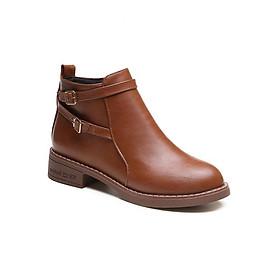 Giày Boot nữ thời trang phong cách Hàn Quốc B090N (Da bò)