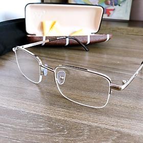 Kính lão thị viễn thị trung niên nửa viền kv656 hàng loại tốt to sáng và rõ cực sang trọng