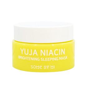 [Mini size] Mặt Nạ Ngủ Dưỡng Trắng Sáng Da Some By Mi Yuja Niacin 30 Days Miracle Brightening Sleeping Mask 15g
