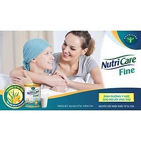Sữa bột Nutricare Fine dinh dưỡng y học tăng cường miễn dịch cho bệnh nhân ung thư (900g)