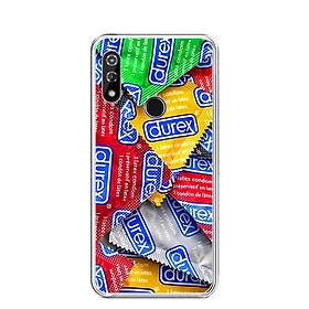 Ốp lưng dẻo cho điện thoại VSMART STAR 4 - 0217 DUREX - Hàng Chính Hãng
