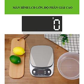 Cân điện tử nhà bếp 10kg  nhỏ,gọn độ chính xác cao -hàng chính hãng