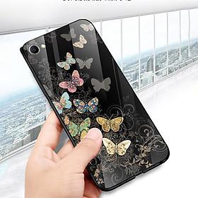 Hình đại diện sản phẩm Ốp điện thoại kính cường lực cho máy Oppo F1S/A59 - bướm đẹp MS ANH061