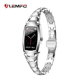 LEMFO H8pro Female Smart Bracelet 1.08-Inch IPS Screen BT5.1 IP67 Waterproof Fitness Tracker Physiological