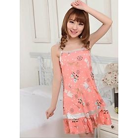 Váy hai dây hình bông tuyết xinh xắn dễ thương ( LỤA MỚI) (BO)