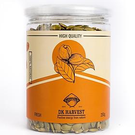 Hạt Bí Xanh (Đã Tách Vỏ) Nhập Khẩu – DK Harvest - 100% nguyên chất và không ướp muối - 250g, 500g
