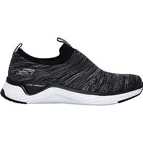 Giày thể thao Nữ Skechers 13329-BKW - Đen