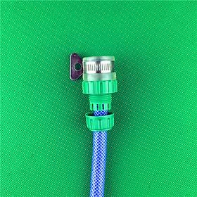 Nối nhanh cho vòi nước ra dây ống nước mềm ống 18 hoặc 27mm dùng tưới cây hay rửa xe