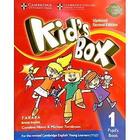 Kid's Box Second edition Pupil's Book Level 1