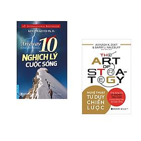 Combo 2 cuốn sách: 10 Nghịch Lý Cuộc Sống + Nghệ thuật tư duy chiến lược