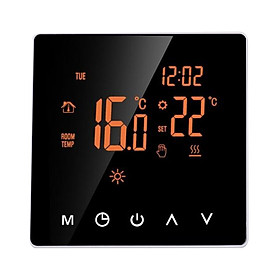 Large Power Intelligent Temperature Controller Touching Screen Weekly Circulation Programming System Thermostat