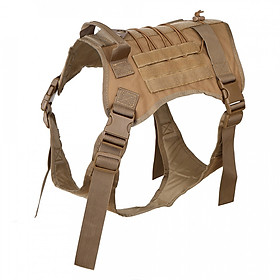 Hình đại diện sản phẩm Large Dog Tactical Vest Harness Working Dog Vest Tactical Dog Vest Patrol K9 Dog Harness with Handle