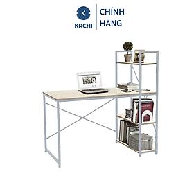 Bàn văn phòng, bàn vi tính, bàn học có kệ sách đi kèm Kachi MK184