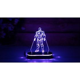 Mô Hình Đèn Led Iron Man Nhỏ