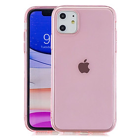 for iPhone 11 / 11 Pro / 11 Pro Max Clear Colorful TPU Back Cover Cellphone Case Shell Style