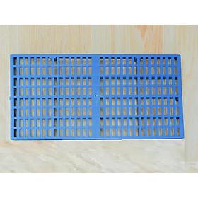 Tấm nhựa lót sàn chuồng chó xanh cao cấp ( 2 Size )