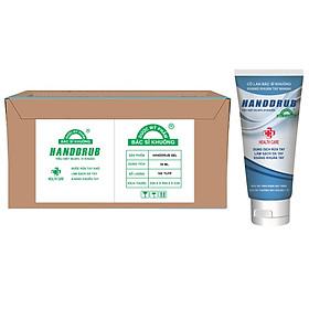 Nguyên thùng Tuýp Gel rửa tay khô y tế HANDDRUB Bác Sĩ Khuông 50 ML diệt khuẩn 99.99% Phòng chống virus Corona - Covid - 19 ( thùng 100 tuýp)