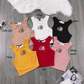 Áo sport body ôm 3 lỗ thời trang, phong cách thể thao cho bé gái - Quần áo trẻ em - SockiMall (200529) (Vàng)