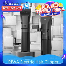 Xiaomi RIWA Kéo cắt tóc điện Không thấm nước Người lớn Trẻ em Cạo râu Điều chỉnh tốc độ thay đổi