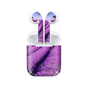 Miếng dán skin chống bẩn cho tai nghe AirPods in hình thiết kế - atk182 (bản không dây 1 và 2)
