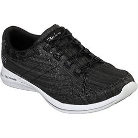 Giày Thể Thao Nữ Skechers 23719-BKW - Đen