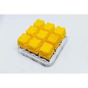 Keycap cheese clone trang trí bàn phím cơ gaming.