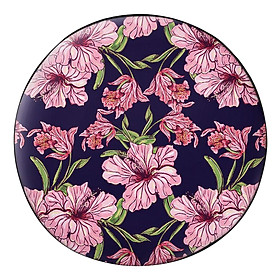 Hình đại diện sản phẩm Gối Ôm Tròn Hoa Dâm Bụt Hồng GOHO043