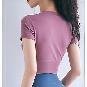 Áo Tập Thể Thao Nữ, Áo Tập Gym Yoga Chạy Bộ Croptop Ôm Body MISSHIN Bo Eo Tôn Dáng-10