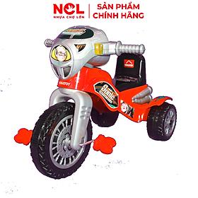 Xe 3 bánh Nhựa Chợ Lớn Super Harley (Không nhạc) - M1787A-X3B - Giao màu ngẫu nhiên