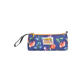 Bóp Họa Tiết Pencil Case Stronger Bags S15-08 (22 x 9 cm) - Xanh Đen