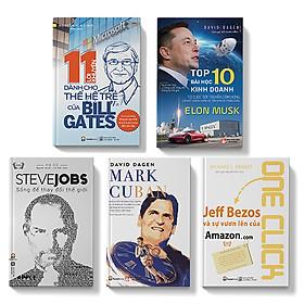 Sách - Combo 5 cuốn - Bí quyết thành công doanh nhân thành đạt