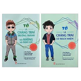 Combo Cẩm Nang Bạn Trai - Thủ Lĩnh Của Sự Thay Đổi: Tớ Là Chàng Trai Trưởng Thành Nói Không Với Bạo Lực + Tớ là Chàng Trai Có Trách Nhiệm (Bộ Sách Tuổi Teen và Bình Đẳng Giới / Tặng Kèm Bookmark Green Life)
