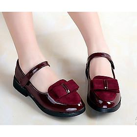 Giày búp bê nơ xinh cho bé gái 3 - 12 tuổi - G1