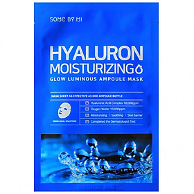Mặt nạ giấy Some By Mi Hyaluron Moisturing Glow Luminous Ampoule Mask