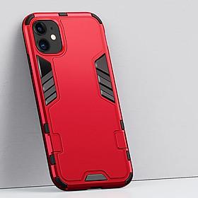 Ốp lưng cho iPhone 6 Plus / 7 / 7 Plus /  X-XR / XS Max / iPhone 11 / iPhone 11 Pro / iPhone 11 Pro Max iRON - MAN - Nhựa PC cứng viền dẻo chống sốc VER 2