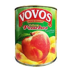 Đào Vàng Ngâm Vovos (820g)