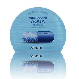 Mặt nạ cao cấp dưỡng da ẩm mượt, săn chắc Banobagi Vita Cocktail Aqua Foil Mask - Intensive Moisturizing 30ml