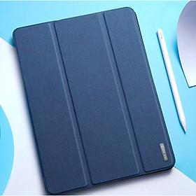 Bao da dành cho iPad Pro 11 2021 hiệu Dux Ducis Domo (có khay đựng bút) - Hàng nhập khẩu
