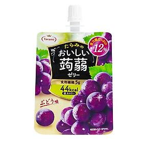 Combo 3 Thạch trái cây Tarami dạng túi đứng 150gr