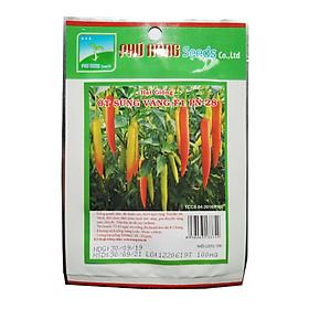 Hạt giống ớt sừng vàng F1 PN-28 (100mg/gói) Phú Nông