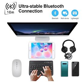 Bàn Phím Không Dây Bluetooth Dùng Được Cho Các Dòng Điện Thoại | Máy Tính Bản | PC IOS Android Windows