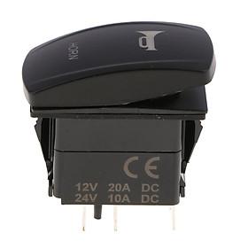Car Motor 12V 20A LED Light Button Led Light Bar Rocker Toggle Switch Blue