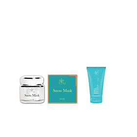 Snow Mask (Mặt Nạ Tuyết) 50g + Rice Body Makeup Mini 30g - T.H.Y