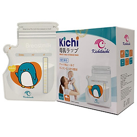 Túi trữ sữa Kichilachi 250ml Chính hãng(Hộp 50 túi)