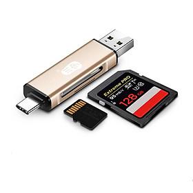 Đầu Đọc Thẻ Nhớ USB-C 3.0 Chuanyu Kiêm Đầu OTG Tốc Độ Cao