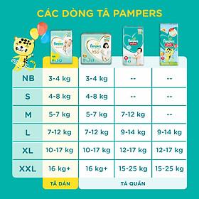Tã Quần Pampers Điều Hoà Gói Lớn XL52 (12-17kg)-3