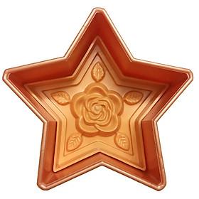 Khuôn ép xôi ngôi sao hoa hồng