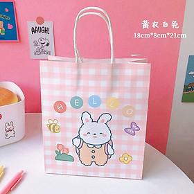 Túi quà cô gái và động vật nguồn hàng giá rẻ