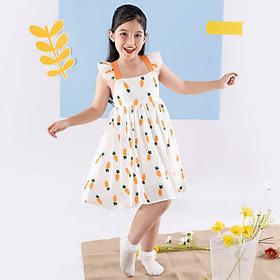 Váy đầm cho bé gái cao cấp Econice V013. Size 5, 6, 7, 8, 10 tuổi mặc mùa hè