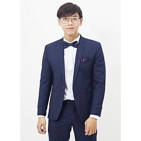 Suit xanh caro ô vuông đậm
